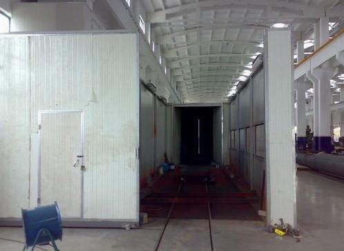 无锡轨道推进式喷漆房