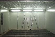 油帘式喷漆室