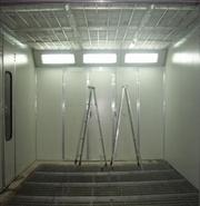 无锡油帘式喷漆室